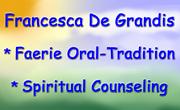 Francesca De Grandis - Faerie Tradition Spiritual Counseling