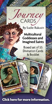 Winged Willow Journey Cards  Goddesses and Immgined Saints.