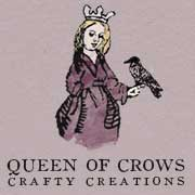 Queen of Crows, Handcrafted Prayer Beads.