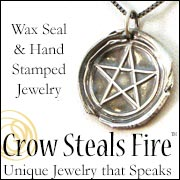 CrowStealsFire Pagan Jewelry