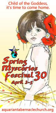 Spring Mysteries Festival April 2-5