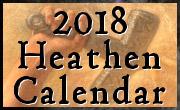 Heathen Calendar 2018