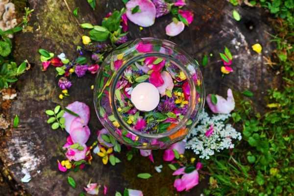 Flower petal & herb crafts