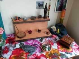 The anything goes altar...