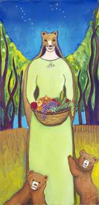 Artio, Goddess of Wild Life, Transformation, and Abundance