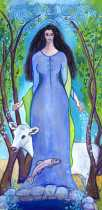 Boann, Celtic Goddess of Inspiration and Creativity