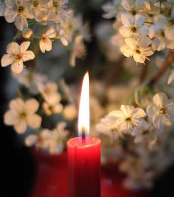 Flame of Intention: Charging the Candle