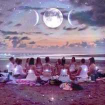 Lady of Silver Magic: Full-Moon Circle Gathering
