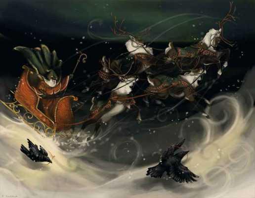 Did Odin inspire the Santa Claus legend?