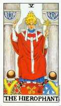 Symbolism in the Hierophant Tarot Card
