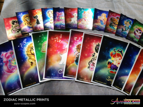 AuraScopes Zodiac Cards and Prints