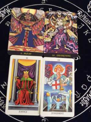 Justice vs. Judgment in the Tarot