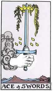 Find Truth, Direction, Clarity and Knowledge with the Ace of Swords