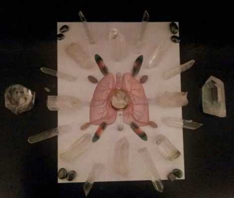 Crystal Grid for Lung Issues