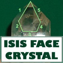 ISIS FACE CRYSTALS - Connect to Goddess Energy