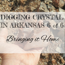 DIGGING QUARTZ CRYSTAL IN ARKANSAS 6 of 6: Bringing It Home