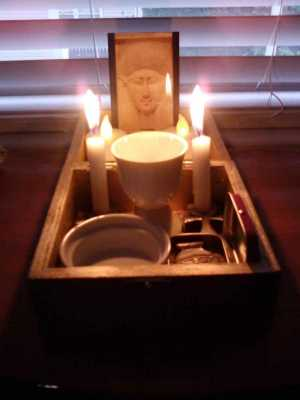 Setting Up a Shrine: One Kemetic's Method, Part II: Travel Shrine