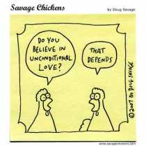Do our beliefs call us to be unconditional?