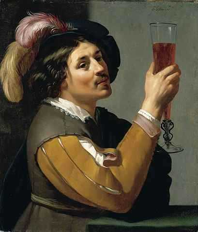 b2ap3_thumbnail_409px-Jan_van_Bijlert_-_Young_Man_Drinking_a_Glass_of_Wine_-_WGA02184.jpg
