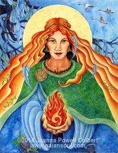 Imbolc - Welcoming Brighid, welcoming Spring