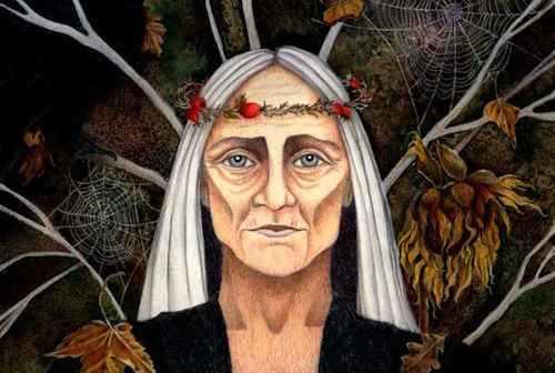 The Hallowmas Woman: On the Threshold