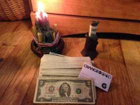 Pagan savings challenge, week thirty-seven:  changing money