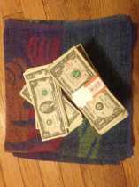 Pagan savings challenge, week forty-two:  towel