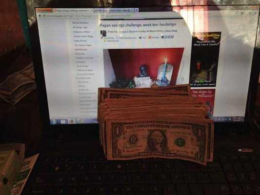Pagan savings challenge, week eleven:  reflections