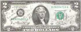 This 2-dollar bill tells the American story