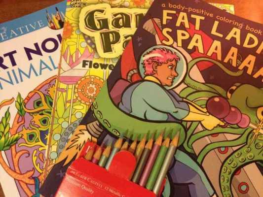 Coloring Books: A Meditation