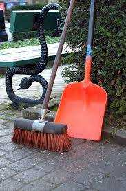 Broom and Shovel