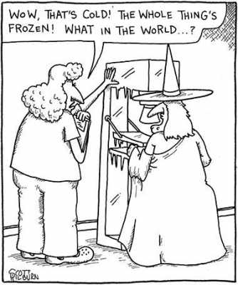 Colder Than a...