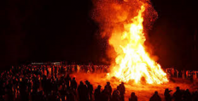 Maypole or Bonfire?