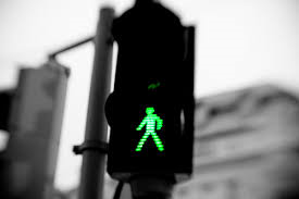 Green Man Walking