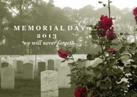 In Memoriam for Memorial Day