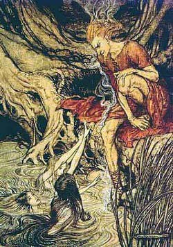 From A. Rackham's illustrations to Wagner's