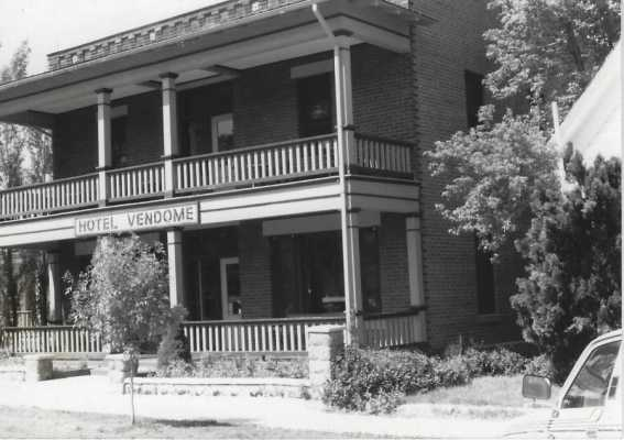 My Psychic Life:  The Hotel Vendome