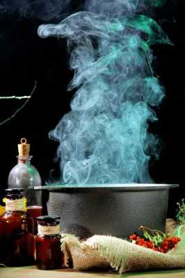 Ritual Elements Center - The Cauldron in the Center