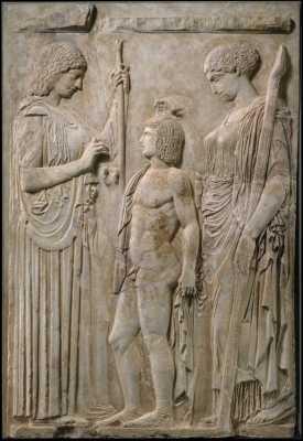 Losing Persephone. Becoming Demeter