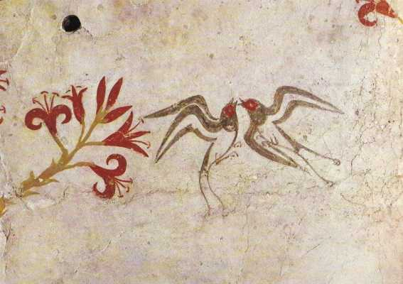 Minoan Auguries: For the Birds?