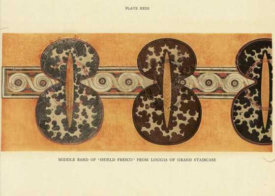 Minoan Shields: Shamanic Tool of the Kouretes?