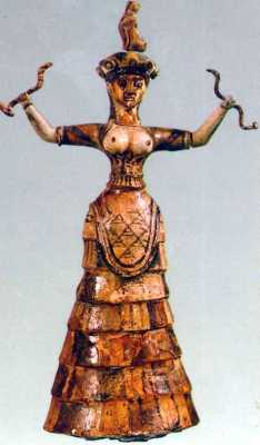 There's more than one Minoan goddess!