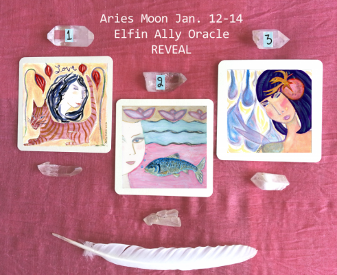 Inner Strength Required: Pick a Card for the Aries Moon Jan. 12-14