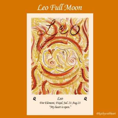 Leo Full Moon: Open Your Heart