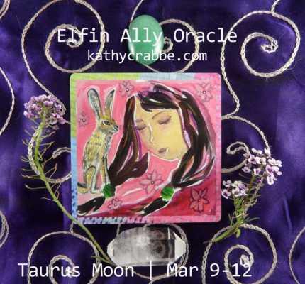 Jack Rabbit Oracle: Romance is in the Air (Taurus Moon)