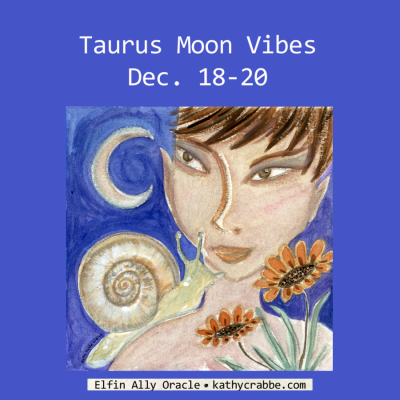 Let It Out - Taurus Moon Vibes - Dec. 18-20