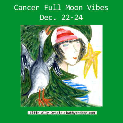 Make Peace with Karma: Full Moon in Cancer + Solstice Blessings