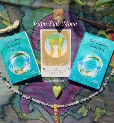 Unleash Your Virgo Full Moon Earth Mother Magick