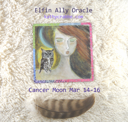 Owl Oracle for the Cancer Moon March 14-16