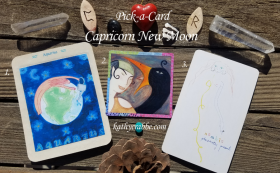 New Moon in Capricorn Oracle Reading (Pick-a-Card)